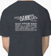Festival of the Banned 2016 Classic T-Shirt