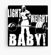 Lienzo ¡Bebé de peso ligero! (Ronnie Coleman)