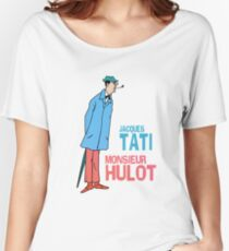 Jacques Tati - Monsieur Hulot Women's Relaxed Fit T-Shirt