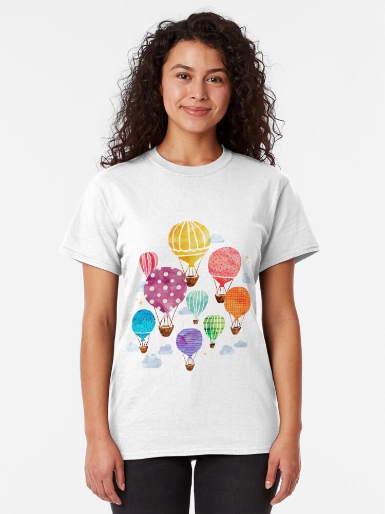 Alternate view of Hot Air Balloon Classic T-Shirt