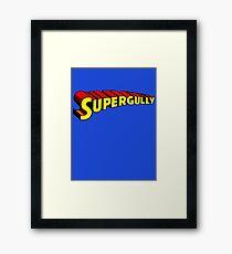 Supergully Framed Print
