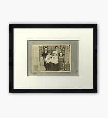 """""""Family Retro""""... prints and products Framed Print"""