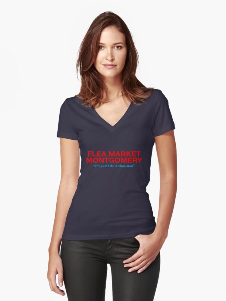 flea market montgomery shirt sammy stephens ellen women s fitted