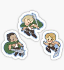 SnK Gunther, Erd, Moblit Sticker