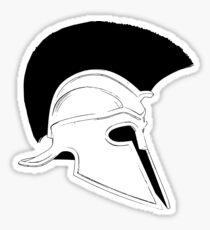 Greek helmet Sticker