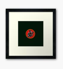 collection enemy Framed Print