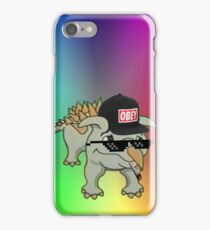 Dino Meme 420 Edition iPhone Case/Skin