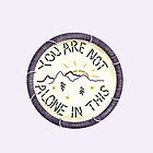 Mumford & Sons Timshel Embroidery Style Patch by Jesse Knight