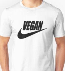 vegan black and white Unisex T-Shirt