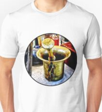 Brass Mortar and Pestle With Handles Unisex T-Shirt
