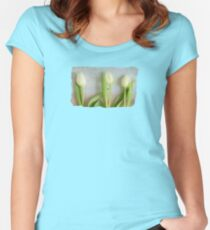 Tulips - JUSTART ©  Women's Fitted Scoop T-Shirt