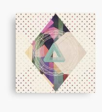 Impossible triangle Canvas Print