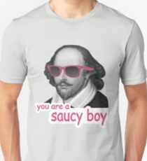 Shakespeare - 'You are a saucy boy' Unisex T-Shirt