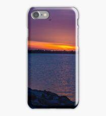 Orange Streak in the Sky iPhone Case/Skin