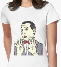 Pee Wee Herman Womens Fitted T-Shirt