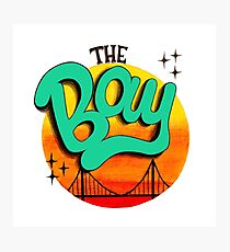 The Bay, California Photographic Print