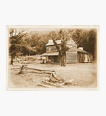 """""""Philip's Place, from the Fence Line""""... prints and products Photographic Print"""