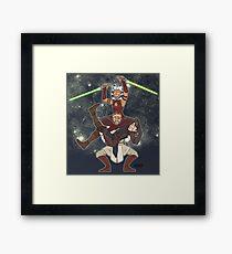 Obi Juan needs some ho Framed Print