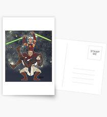 Obi Juan needs some ho Postcards