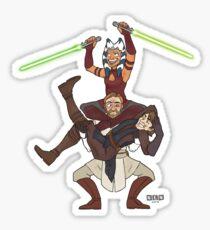 Obi Juan needs some ho Sticker