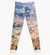 Der Colorado, der den Grand Canyon 02 schnitzt Leggings
