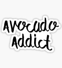 Avocado Addict Sticker