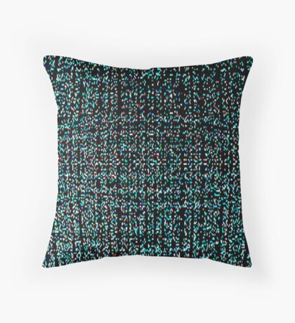 EARTH-UNIVERSE IN BLUE Throw Pillow
