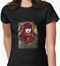 Gypsy Louise in Autumn Scarves Womens Fitted T-Shirt