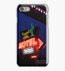 Desert Hills Motel Route 66  iPhone Case/Skin