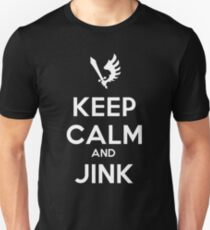 Keep Calm and Jink Unisex T-Shirt