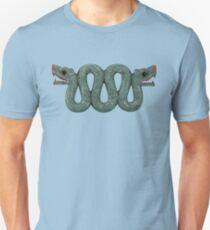 Double Headed Aztec Serpent Unisex T-Shirt