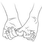 Holding Hands von Lana Petersen