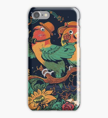 loving bird and friend iPhone Case/Skin