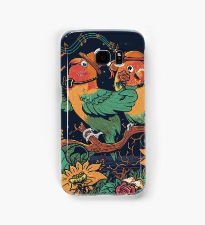 loving bird and friend Samsung Galaxy Case/Skin