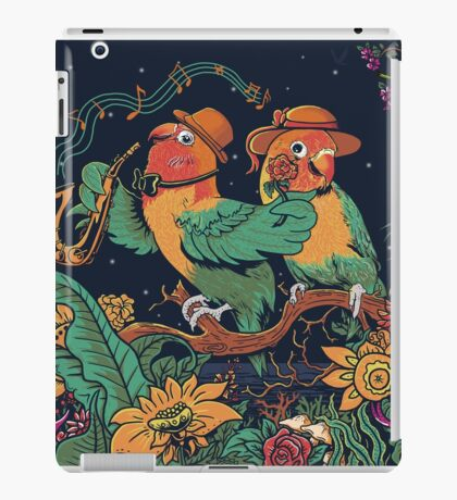 loving bird and friend iPad Case/Skin