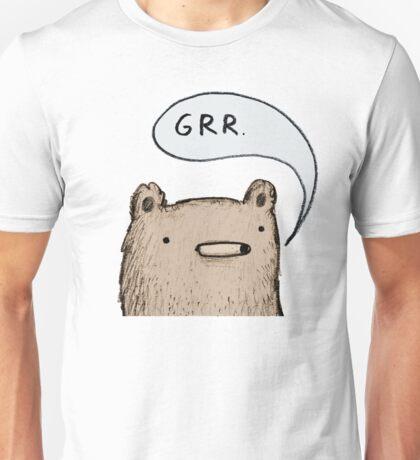 Growling Bear Unisex T-Shirt