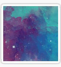 Night sky [watercolor] Sticker