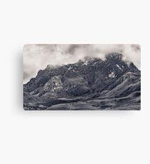 Rocky Mountain from Top of Cruz Loma Hill Quito Ecuador Canvas Print