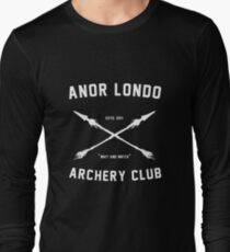 ANOR LONDO - ARCHERY CLUB T-shirt manches longues