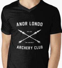 ANOR LONDO - ARCHERY CLUB Men's V-Neck T-Shirt