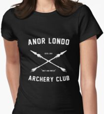 ANOR LONDO - ARCHERY CLUB Women's Fitted T-Shirt