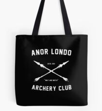ANOR LONDO - ARCHERY CLUB Tote Bag