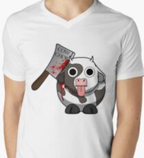 Cow Chop Bloody Knife T-Shirt
