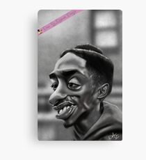 Tupac as Bishop from Juice Canvas Print