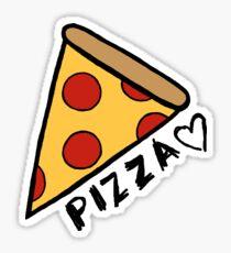 Cartoon Pizza Stickers Redbubble