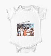 Fifth Harmony's 7/27 Simple Design  One Piece - Short Sleeve