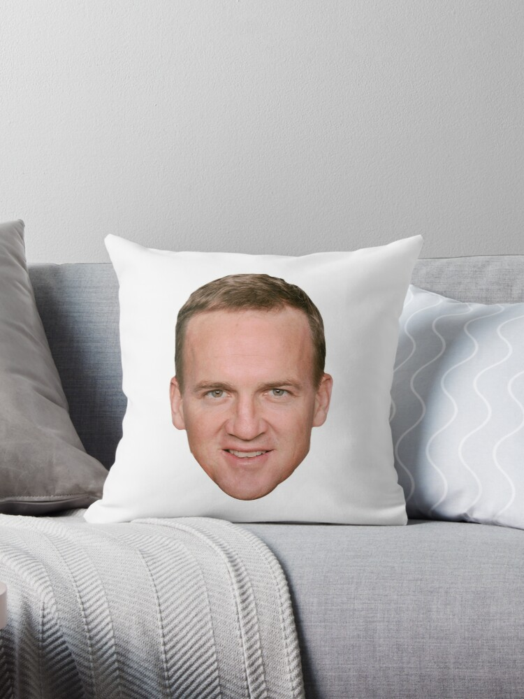 Terrific Peyton Manning Throw Pillow By Lucasthechin Interior Design Ideas Clesiryabchikinfo