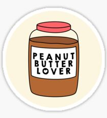 Peanut Butter Lover Sticker