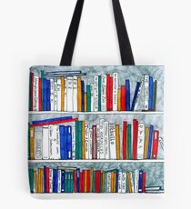 complete works of Shakespeare bookcase Tote Bag