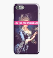 There Will Be Cake iPhone Case/Skin